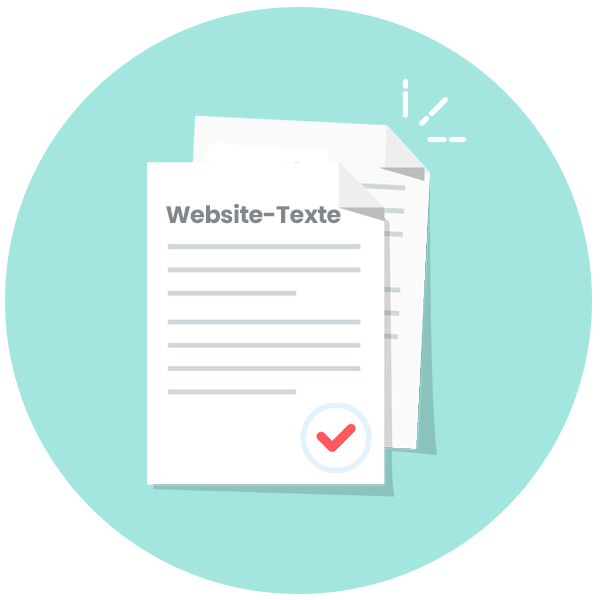 Website Texte